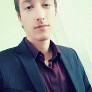 Jahongir, 19, г.Душанбе