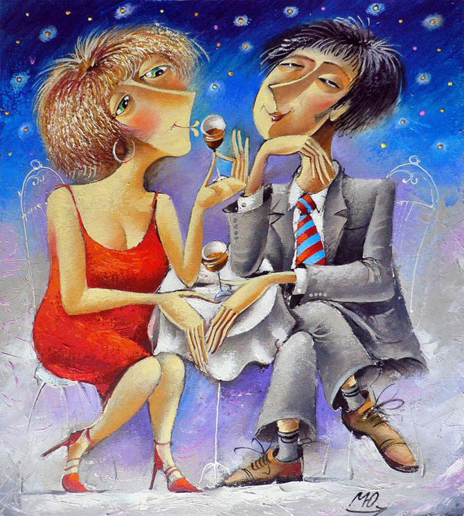 Прикольные картинки про любовь мужчины и женщины
