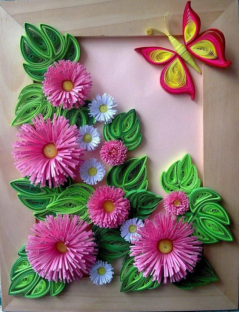 квиллинг открытка для начинающих пошагово с фото из бумаги цветы футболе гонг